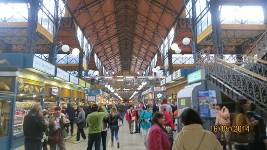Central Market Hall: view