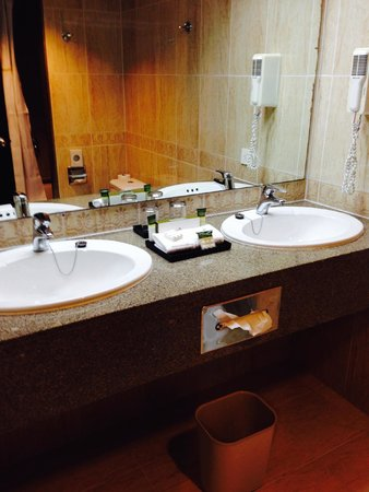 Hotel Riu Palace Paradise Island: Double Sink