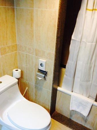 Hotel Riu Palace Paradise Island: shower/toilet