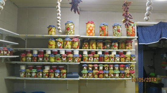 Central Market Hall : pickled veggies