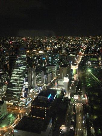Nagoya Marriott Associa Hotel: お部屋からの夜景