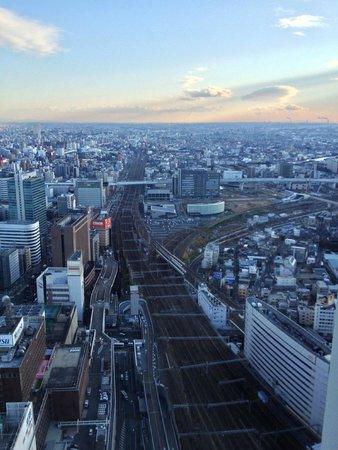 Nagoya Marriott Associa Hotel: 遠くまで見渡せます