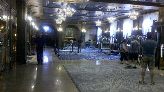 Fairmont Le Chateau Frontenac: Lobby