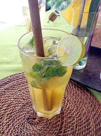 Manik Organik: Basil lemonade, oh my!