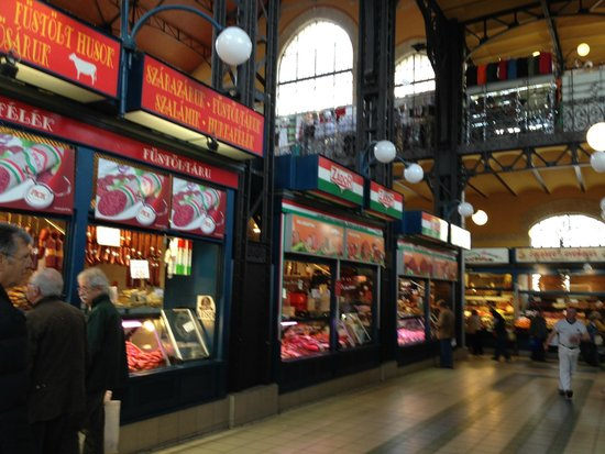 Central Market Hall: stores