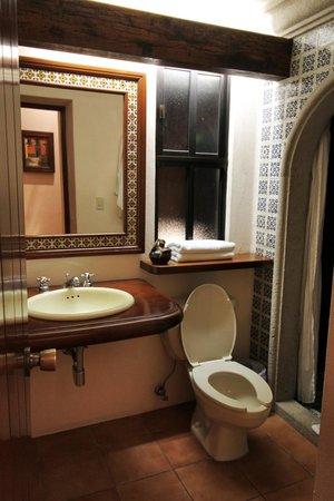 Hotel Lunata: Baño