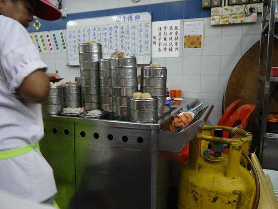 Tai Tong Restaurant: スチームパンク