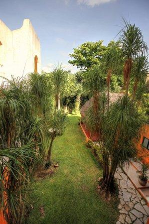 Hotel Lunata: Vista al jardín desde la habiación