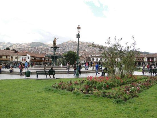 Plaza de Armas (Huacaypata): Plaza das Armas