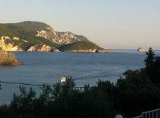Odysseus Hotel: View from hotel balcony