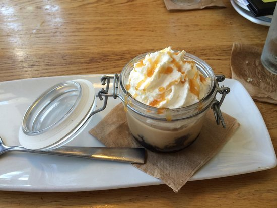 Salted caramel pudding - Picture of California Pizza Kitchen ...