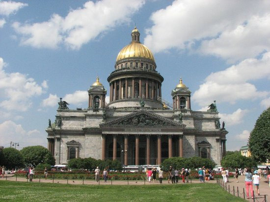 The Museum Complex The State Museum St. Isaac's Cathedral: Outside view, St. Isaac Square, near Astoria Hotel & Equestrian Monument