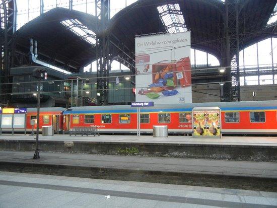 Bunker Hamburg Hauptbahnhof: Hamburg Hauptbahnhof.