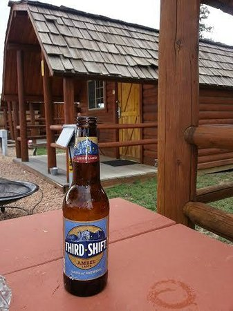 KOA CABINS AND BEER