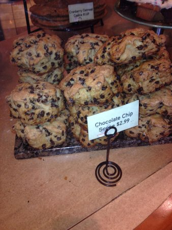 Wildflower Bread Company: Biggest scones I've ever seen