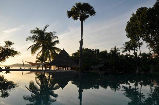 Bandara Resort & Spa: the morning view from Bandara