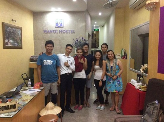 B&B Hanoi Hotel : Nice time with Guests from Manila, Philip