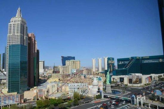 Excalibur Hotel & Casino: vista desde la ventana de la habitacion