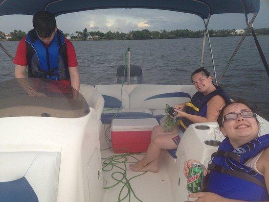 Hayley's Jet Ski and Boat Rental: Having fun.