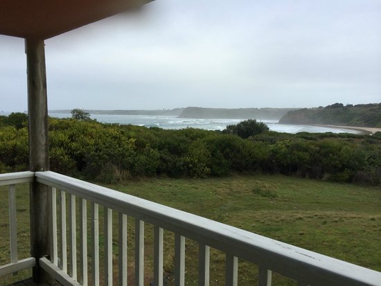 Clifftop Boutique Accommodation: Great view from room
