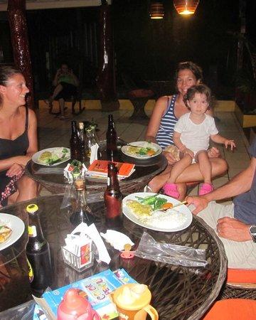 Restaurant  and Cafe Cristina: family dinner