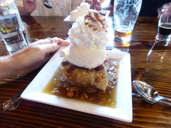 Mill City Brew Werks: Bread Pudding