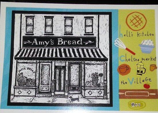 Amy's Bread : Postcard of bakery