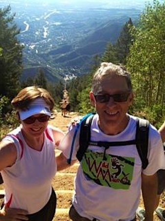 Manitou Springs Incline: Must do the Manitou Incline!