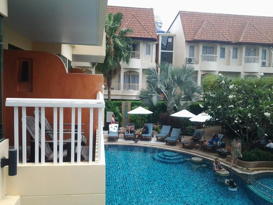 Palmyra Patong Resort: View from room