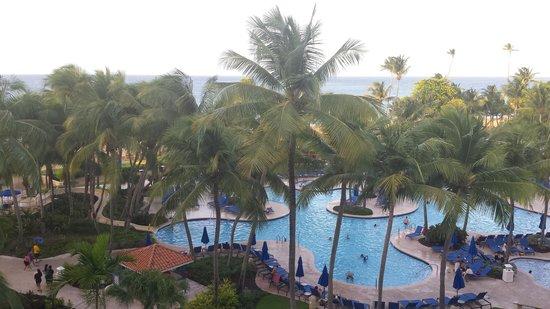 Margaritaville Vacation Club Wyndham Rio Mar: From my room balcony - 5026