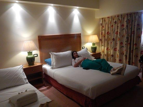 Tivoli Oriente Hotel : Room view.