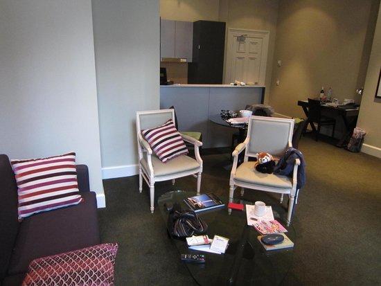 Adina Apartment Hotel Adelaide Treasury: Room