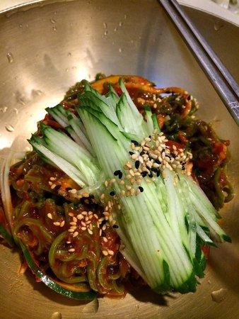 Myeongdong Kyoja Main: Spicy cold noodles