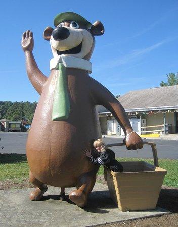 Yogi Bear's Jellystone Park Camp-Resort Luray: chillin with yogi