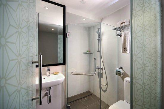 hotel clover 33 Jalan Sultan: Loft King Toilet