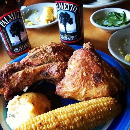 Jestine's Kitchen: the fried chicken