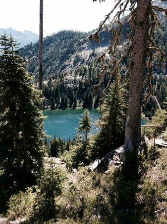 McAlester Pass-Rainbow Lake Loop: Rainbow Lake