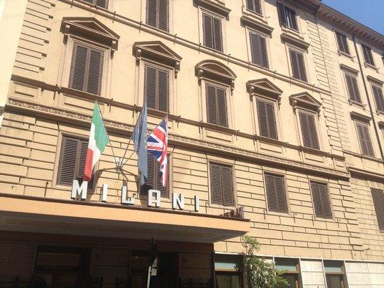 Milani Hotel : FRENTE DEL HOTEL