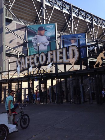 Safeco Field: Left Field Entrance