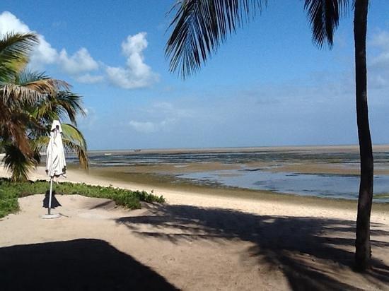 Pestana Bazaruto Lodge: spiaggia fronte ristorante