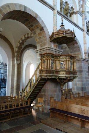 Ribe Domkirke, prædikestol