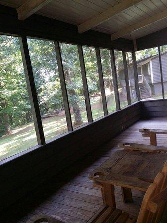 cabin balcony picture of amicalola falls lodge dawsonville rh tripadvisor com