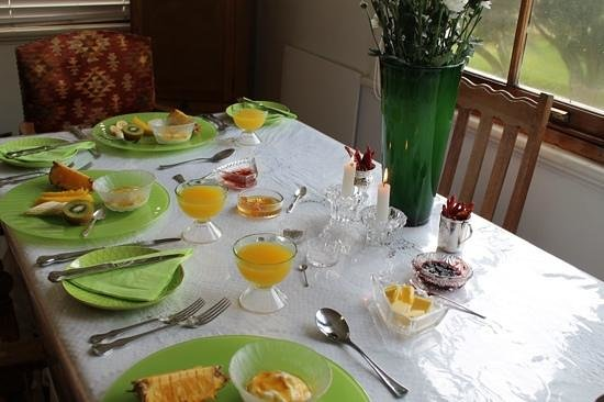 Bella Ev: our stunning breakfast