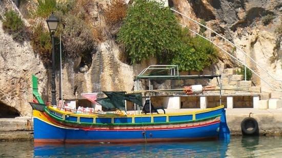 Malta5D: Gozo , strada per la Rambla