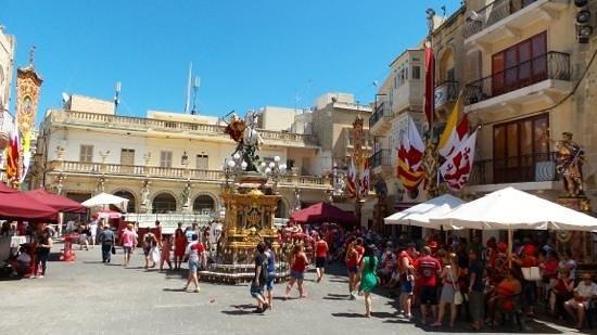 Malta5D: Gozo, festa di San Giorgio