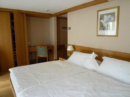 Sertorelli Sport Hotel : シンプルで清潔