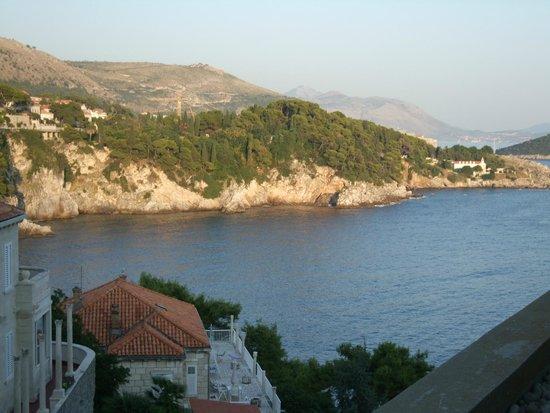 Rixos Hotel Libertas: 部屋からもアドリア海が見えます
