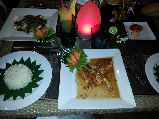 Centara Kata Resort Phuket: Dinner at the hotel