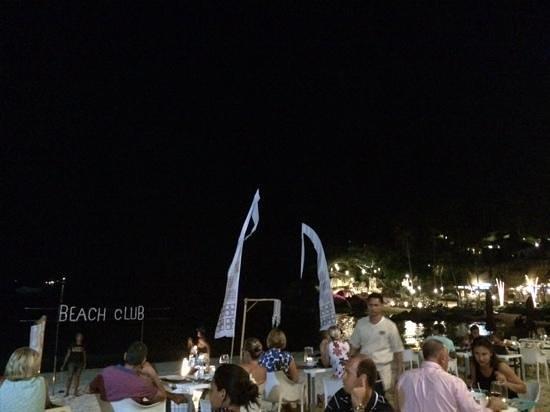 Buri Rasa Koh Phangan : dinner on the beach