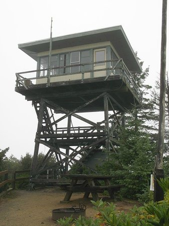 Powers, Oregón: Bald Knob Lookout Tower